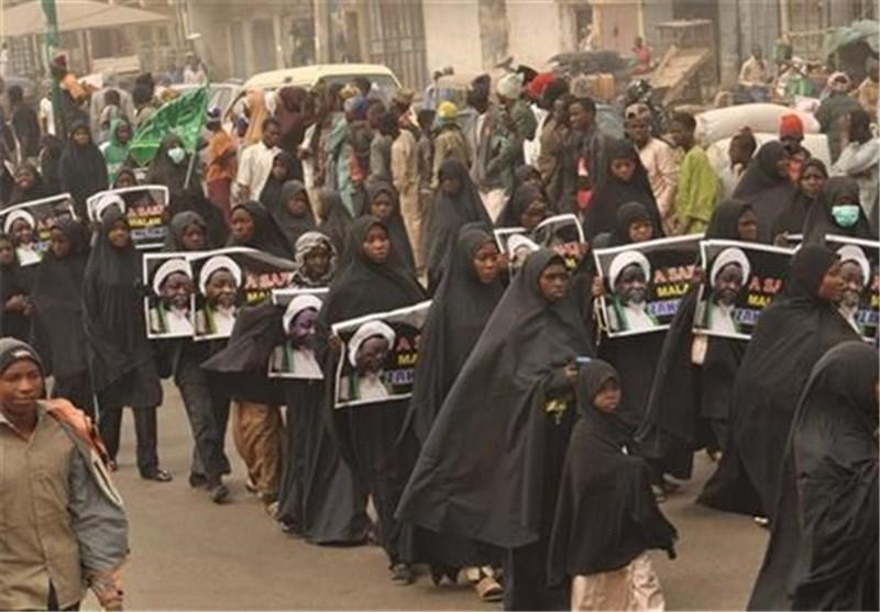 مردم نیجریه در اعتراض به کشتار مسلمانان تظاهرات کردند