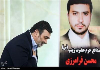 سردار حسین اشتری فرمانده نیروی انتظامی در نماز جمعه تهران