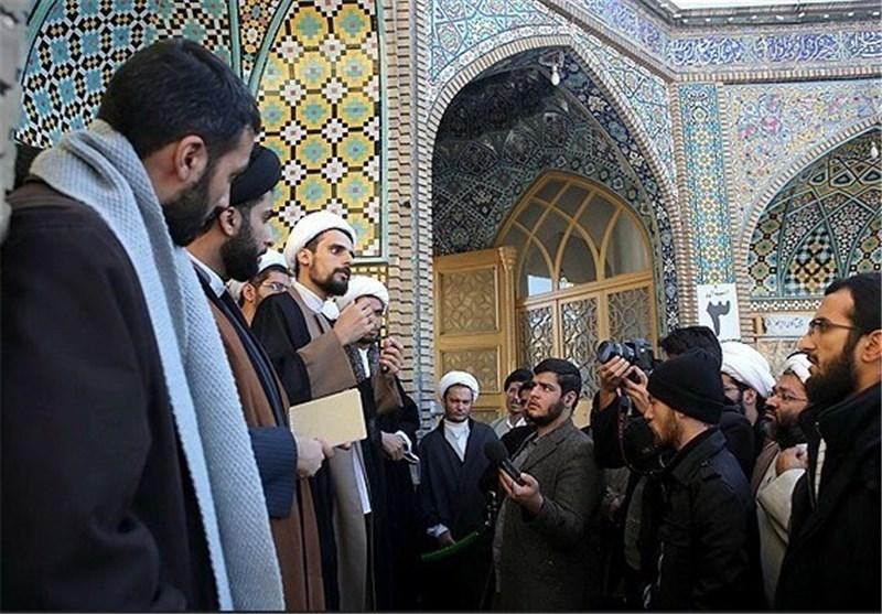 """دومین""""کاروان روایت فتنه"""" در تهران برگزار شد"""