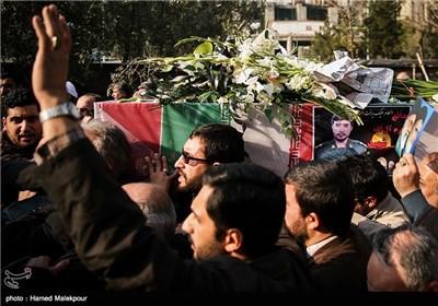 تشییع پیکر شهید مدافع حرم محسن فرامرزی - مصلی تهران