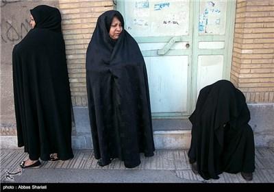 تشییع پیکر شهید مدافع حرم عفتی در شهریار کرج