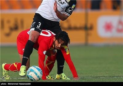 دیدار تیم های فوتبال راهآهن و فولاد خوزستان