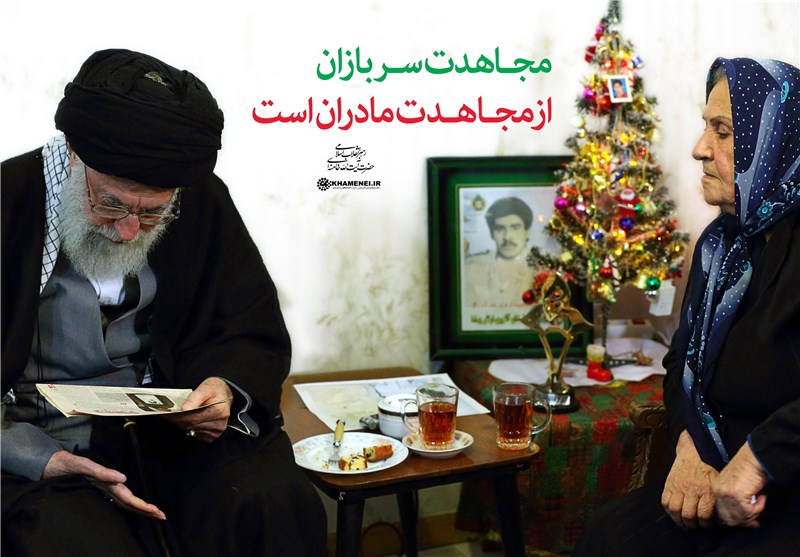 Ayatollah Khamenei Visits Home of Christian Martyrs in Christmastime