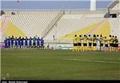 تساوی یک نیمهای استقلال خوزستان مقابل نفت