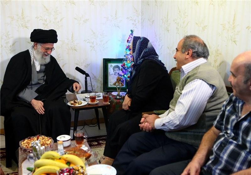 روایت دیدار امام خامنهای با خانواده شهیدِ آشوری «روبرت لازار»