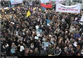 گردهمایی 9 دی در استانها- همدان ،گرگان