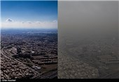 کیفیت هوای استان تهران ناسالم برای گروههای حساس
