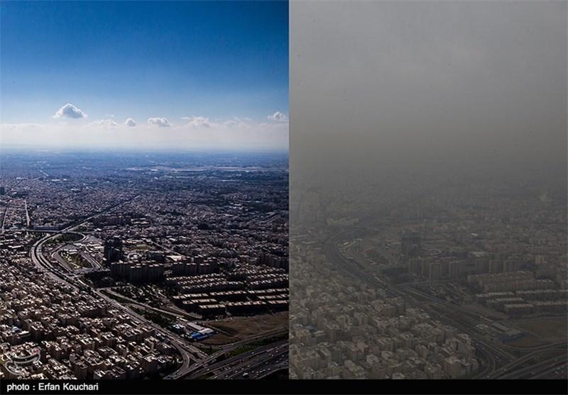 نتیجه تصویری برای آلودگی هوا