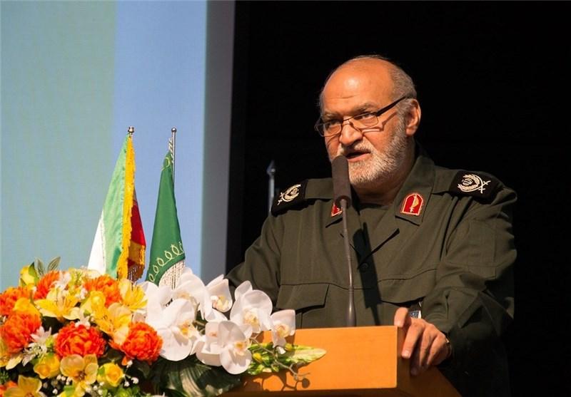 سردار غیاثی فرمانده جدید سپاه فجر استان فارس شد