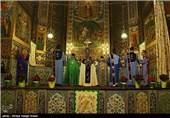 مراسم سال نو میلادی در کلیسای وانک اصفهان