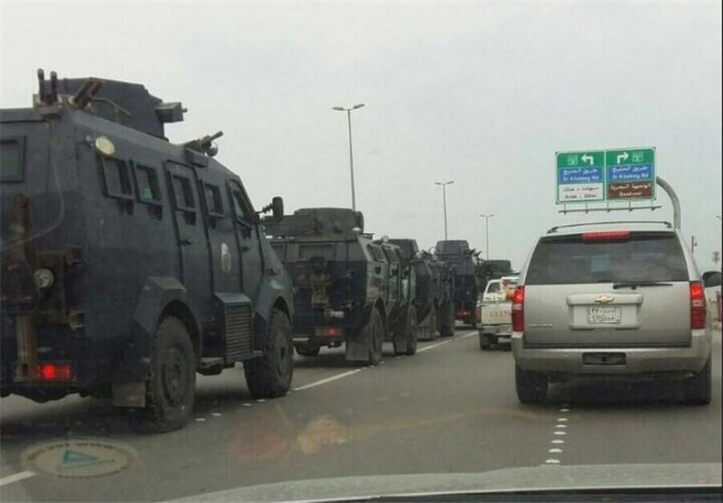تجهیزات نظامی در راه القطیف
