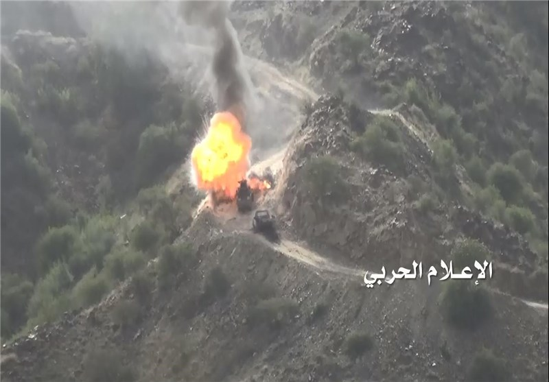 بالفیدیو.. قوات الیمن المشترکة تفرض سیطرتها على جبل الدود السعودی
