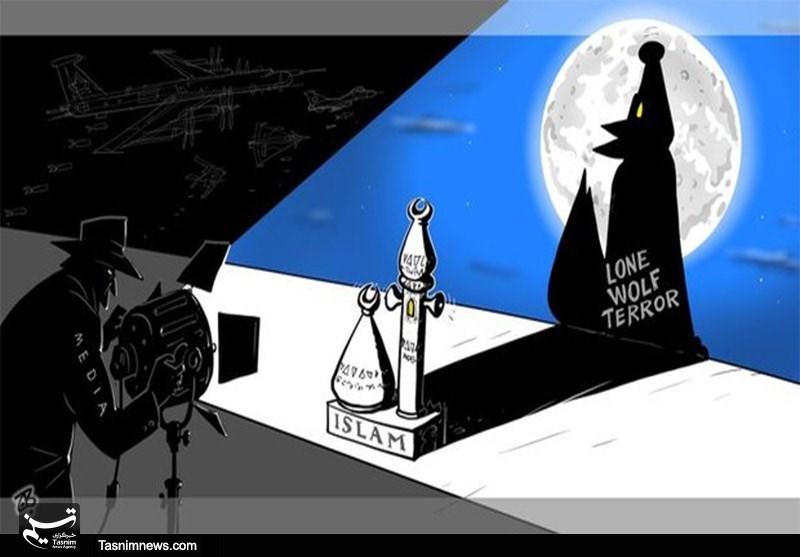 کاریکاتور/ اسلام هراسی توطعه استکبار جهانی
