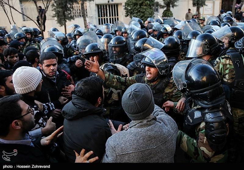 تجمع اعتراضی به اعدام شیخ نمر مقابل سفارت عربستان -2