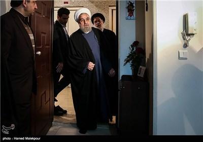 رئیس الجمهوریة یزور منزل معاق بنسبة 70%