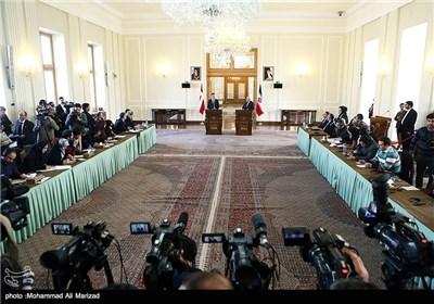 دیدار و نشست خبری مشترک وزرای خارجه ایران و دانمارک