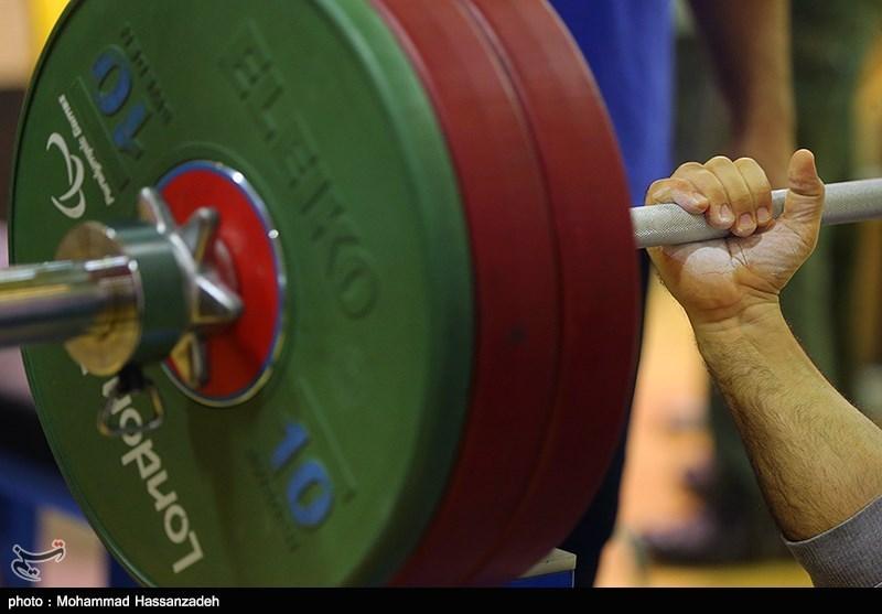 تمرین تیم ملی وزنه برداری معلولین