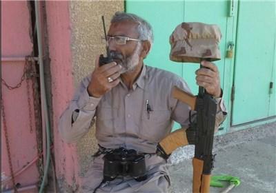 لحظه شهادت شهید حمید تقوی