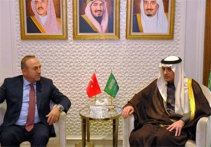 وزیر خارجه ترکیه عربستان