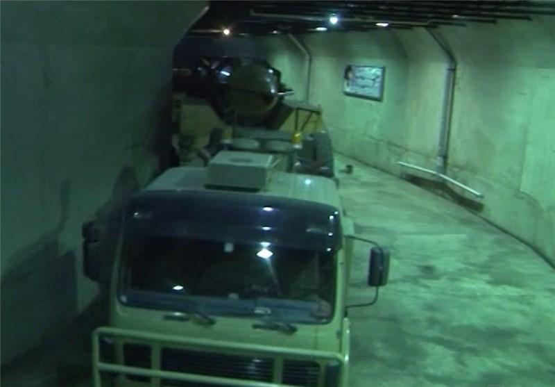 افتتاح ثانی مدینة صاروخیة تحت الارض لقوات الحرس الثوری + صور