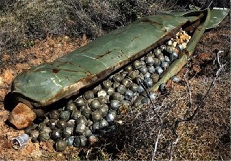 Image result for قنابل عنقودية أميركية