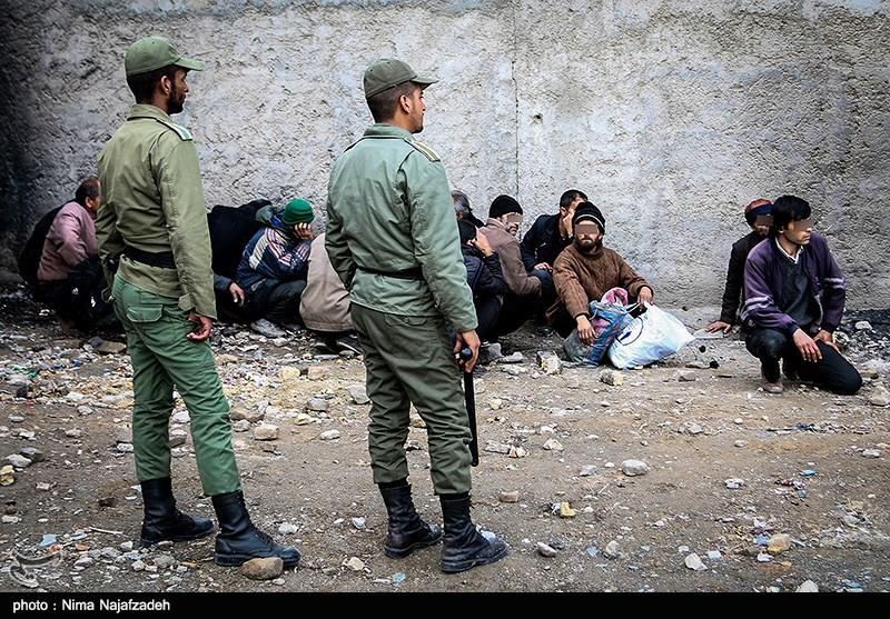 جمعآوری 1200 معتاد متجاهر از محلات حاشیه شهر کرمانشاه