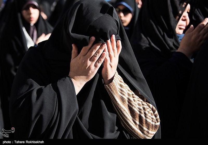 تشییع چهار تن از شهدای مدافع حرم و جانباختگان فاجعه منا در شیراز