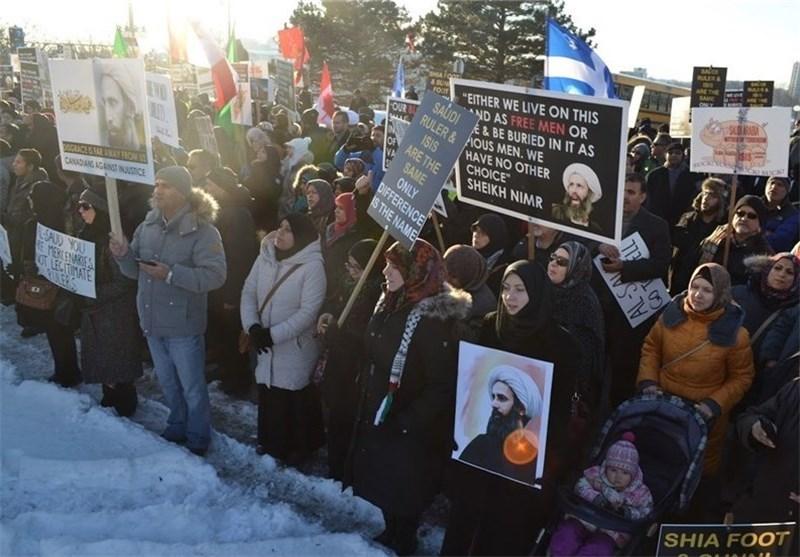 تظاهرات آمریکا علیه آل سعود
