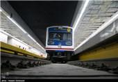 حرکت اولین قطار تست سرد در خط مترو فرودگاه مهرآباد
