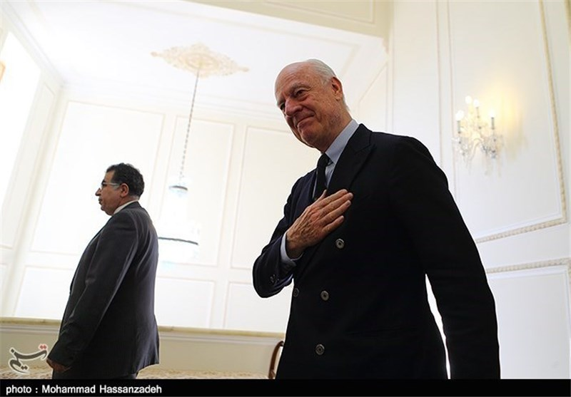 UN Syria Envoy Due in Tehran to Discuss Syrian Crisis