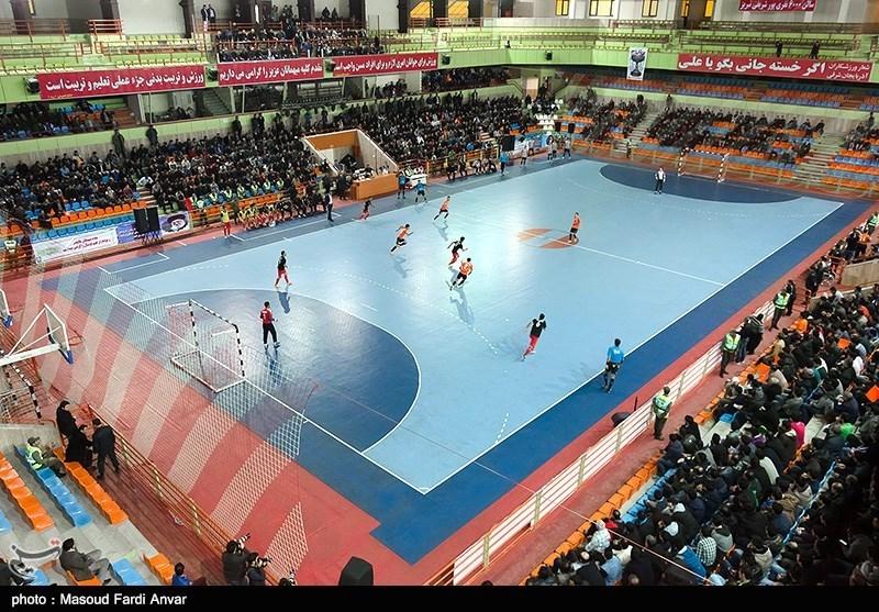 دیدار تیم های فوتسال مس میگون و میثاق تهران- تبریز
