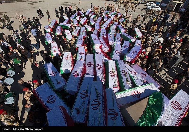 تبادل شهدا در مرز شلمچه - خوزستان