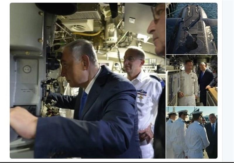 نتانیاهو زیردریایی
