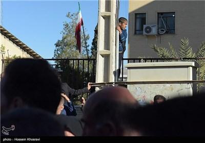 مراسم استقبال مردم فارس از شهيدان گمنام