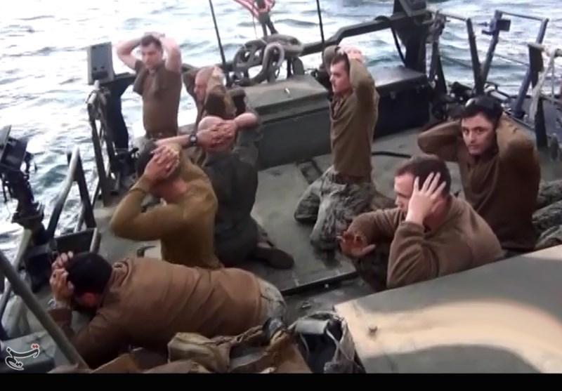 تفنگداران دستگیر شده آمریکایی