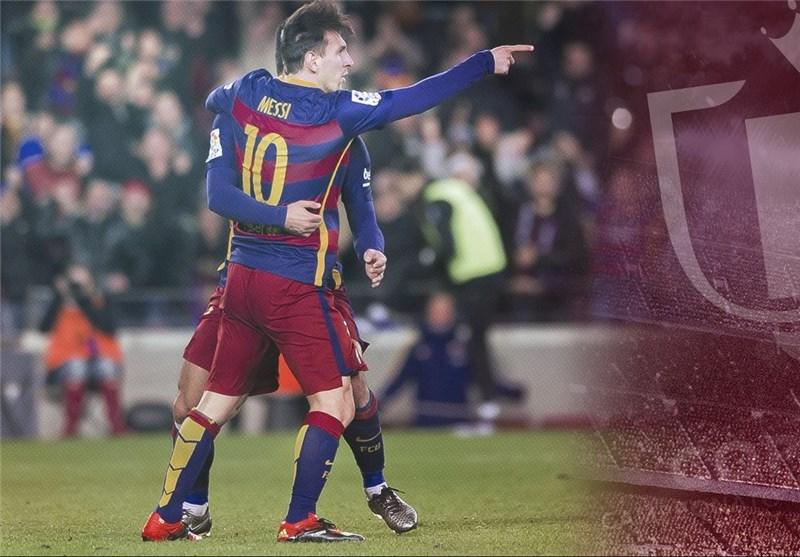 بارسلونا با فتح کاتالونیا به جمع 8 تیم برتر رسید