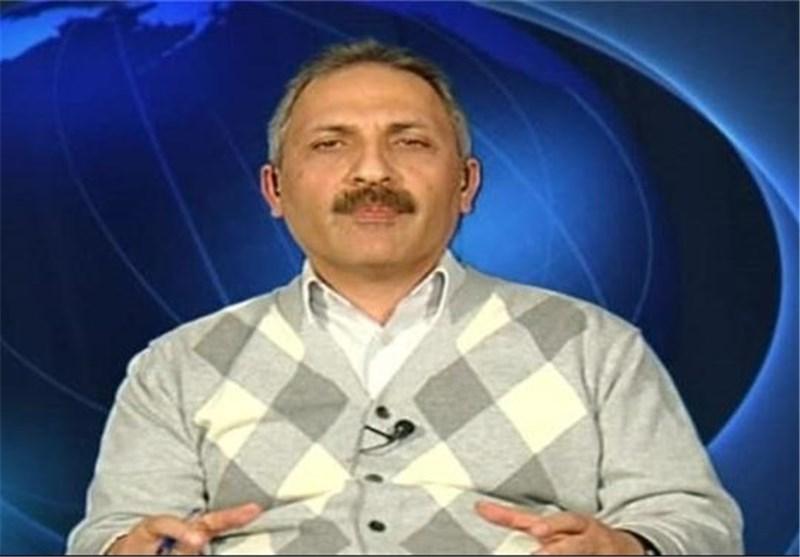 ملاذ مقداد رئیس مرکز مطالعات استراتژیک وزارت اطلاع رسانی سوریه
