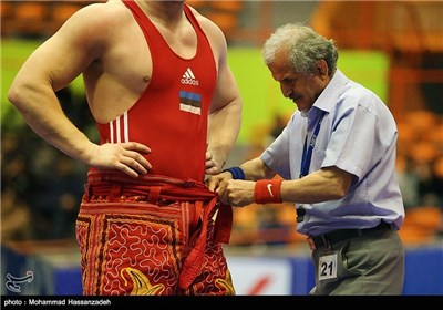 Iran's Capital Hosts Takhti Int'l Wrestling Cup
