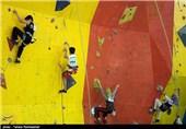 مسابقات سنگ نوردی نونهالان کشور در شیراز