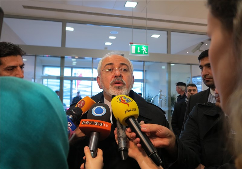 Anti-Iran Sanctions to Be Removed Today: Iran's FM Zarif