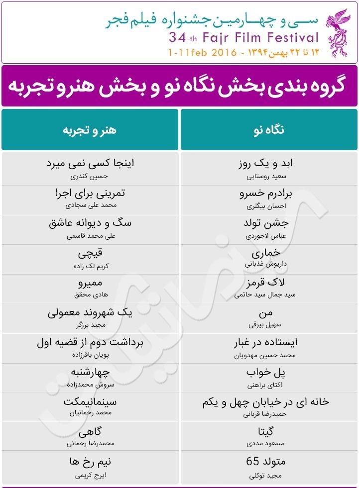 جشنواره فیلم فجر خرید بلیط