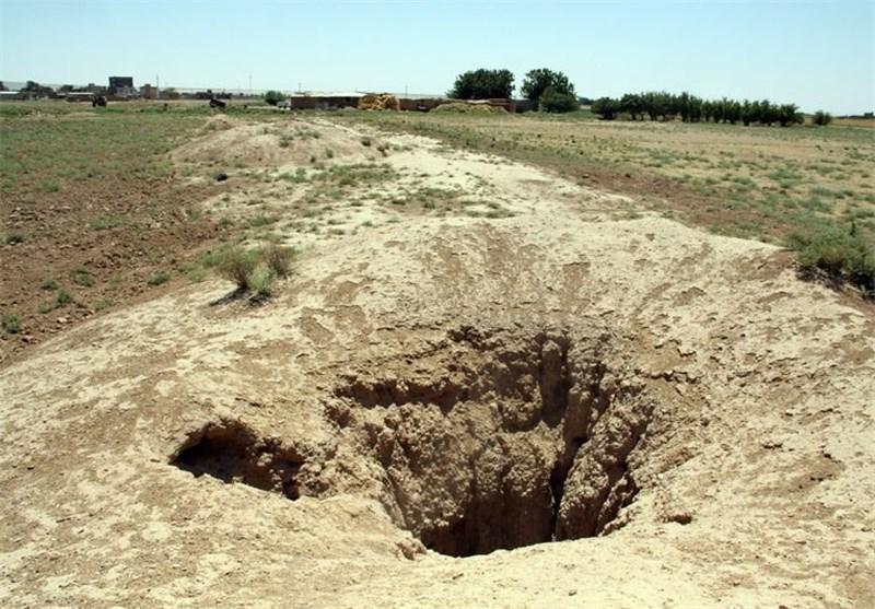 خشکسالی/نشست زمین/قنات