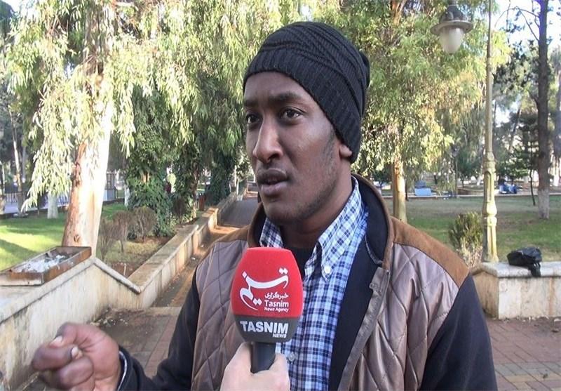 طلاب عرب: الشعب السوری وجامعة حلب استقبلونا فی السراء فلن نترکهم فی الضراء+ صور