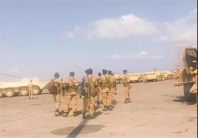 تعزیزات وجنود من جنسیات مختلفة تصل محافظة عدن الیمنیة
