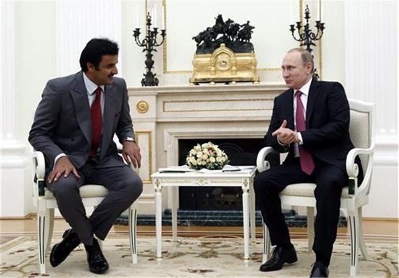روسیا وقطر تتفقان على حل سیاسی فی سوریا