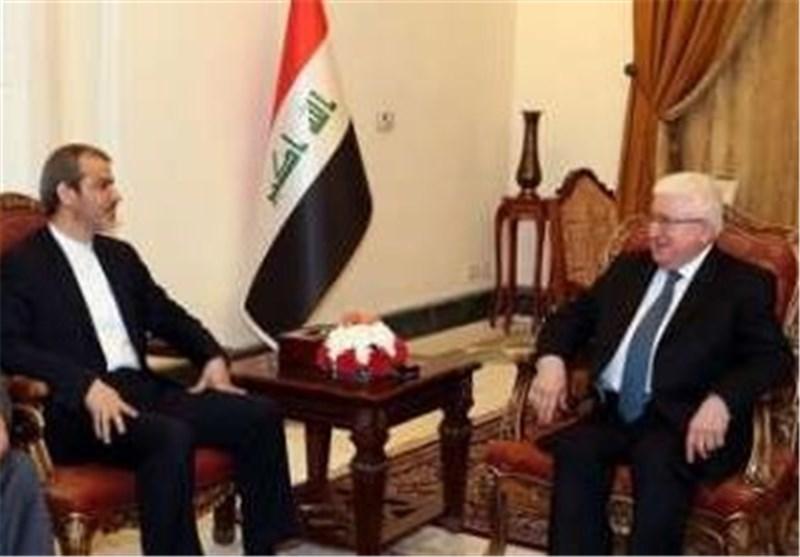 معصوم: رفع الحظر عن إیران سیعزز الصداقة والتعاون الإقلیمی