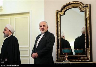 Pakistan Başbakanı Navaz Şerif ve İran Cumhurbaşkanı Hassan Ruhaninin Görüşü