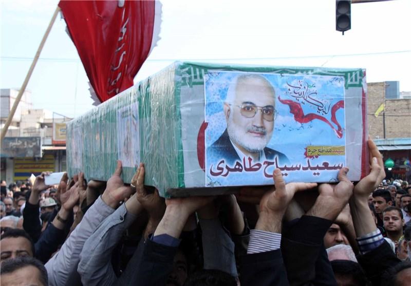 شهید سعید سیاح طاهری دقایقی قبل از شهادت+ فیلم