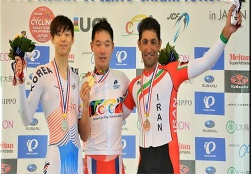 Iran's Haghi Wins Bronze in Asian Cycling Championships