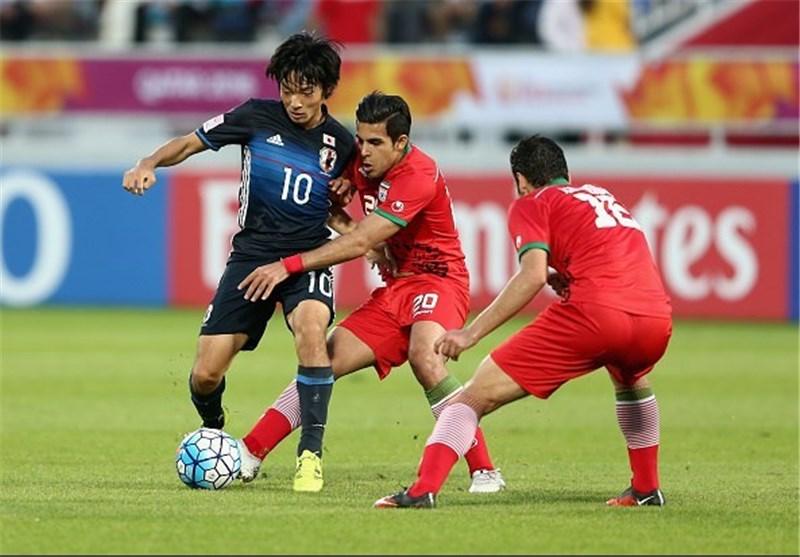 شاهین ثاقبی، تیم فوتبال امید ایران و ژاپن